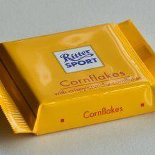 Чудова шоколадка з незвичайними хрусткими пластівцями