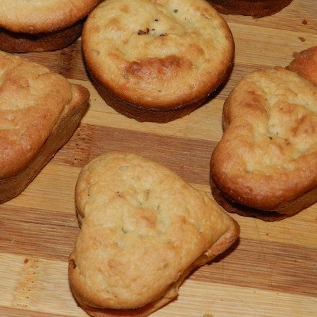 Як спекти яблучні кекси з шоколадною начинкою