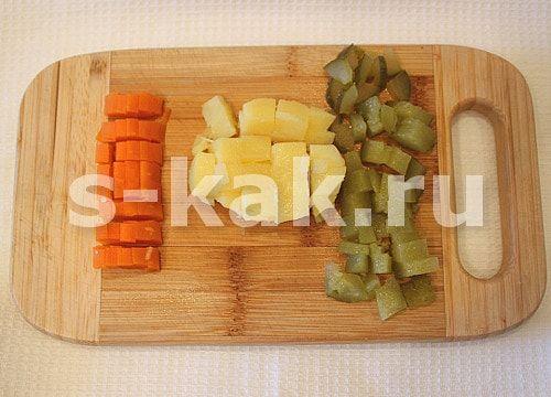 Як смачно приготувати салат олів`є