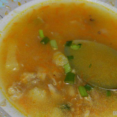 Як приготувати осінній суп з сухариками