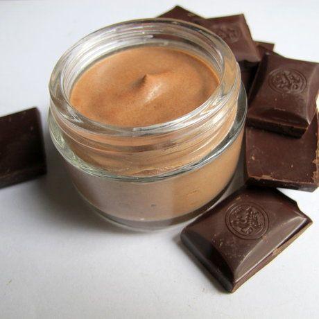 Як зробити шоколадний мус для тіла