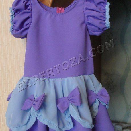 Як зшити плаття дівчинці своїми руками