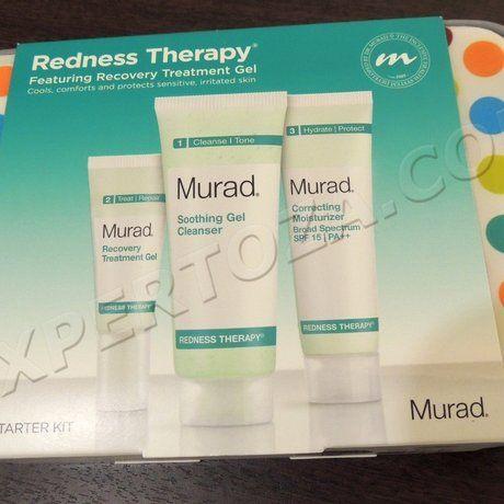 Набір засобів проти почервоніння шкіри murad redness therapy jet set starter kit - фото і особистий досвід використання